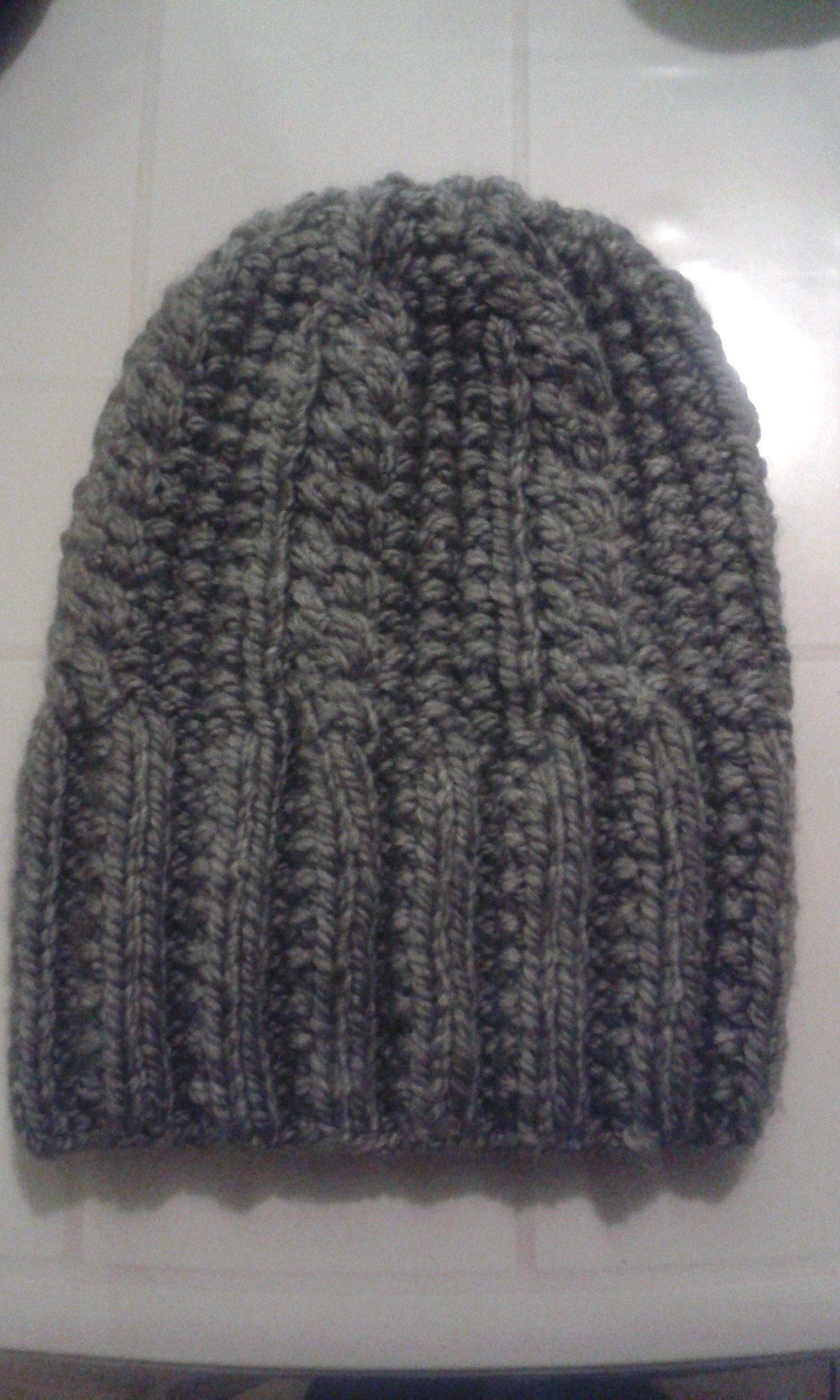Bonnet mailletricot - Rentrer les fils tricot ...
